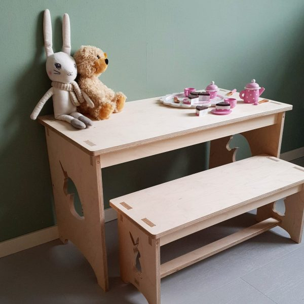 set tafel + bank